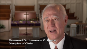 Reverend Laurence Keene Disc of Christ