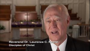 Reverend Laurence Keene Disc of Christ