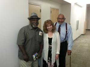 Mel Hamilton, Margaret Young, Darius Gray