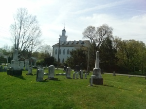 Historic Cemetery next to Kirtland Temple