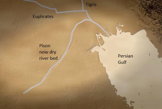 Atheist finds garden of eden mormon heretic for Garden of eden rivers